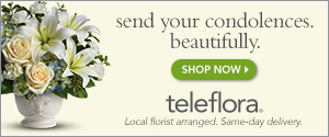 teleflora.com Send Your Condolences. Beautifully.